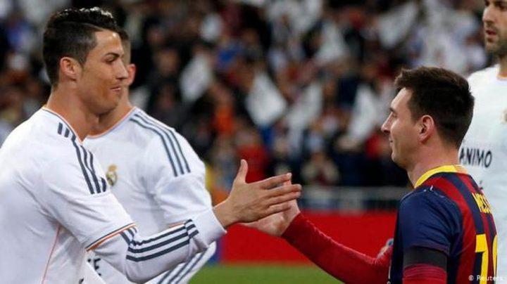 رئيس برشلونة يخطط لضم رونالدو إلى جانب ميسي