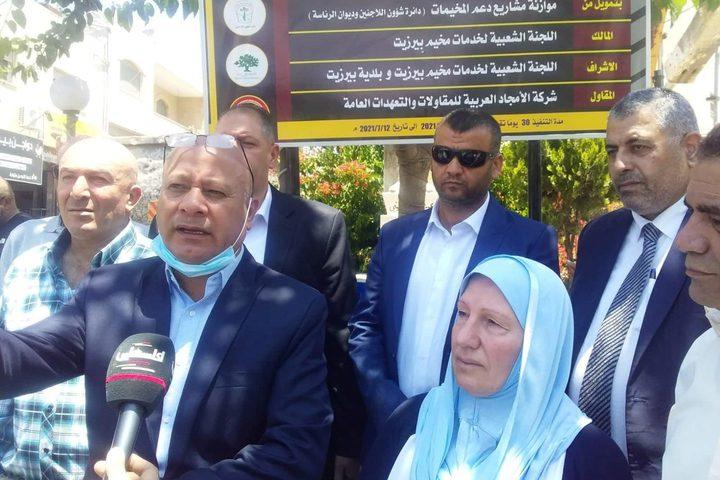 أبو هولي: تعزيز صمود اللاجئين في المخيمات من أولوياتنا