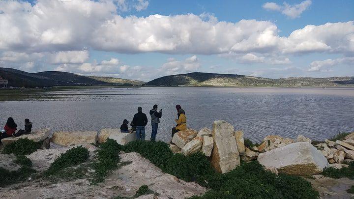 وزير الزراعة يبحث الاستفادة من كميات المياه في مرج صانور