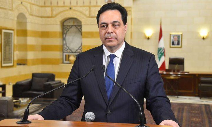 حكومة تصريف الأعمال اللبنانية تنفي مسؤوليتها عن انهيار البلاد