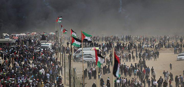 جيش الاحتلال يستعد لعودة مسيرات العودة في قطاع غزة