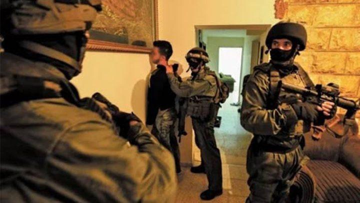 قوات الاحتلال تعتقل 5 شبان من محافظة نابلس