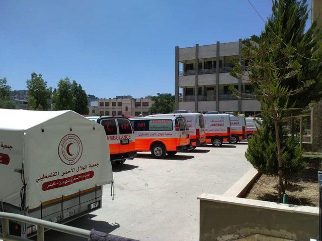 الهلال الأحمر يجهز مستشفا ميدايا في بيتا