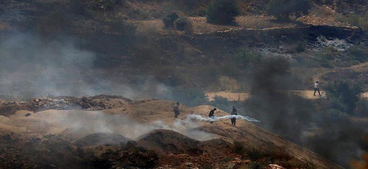 عشرات الإصابات في مواجهات في قرية بيتا جنوب نابلس