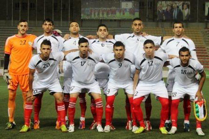 منتخب فلسطين الأولمبي يفوز على المقاصة المصري وديا