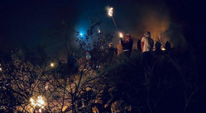 إصابات خلال مواجهات مع الاحتلال في بيتا جنوب نابلس