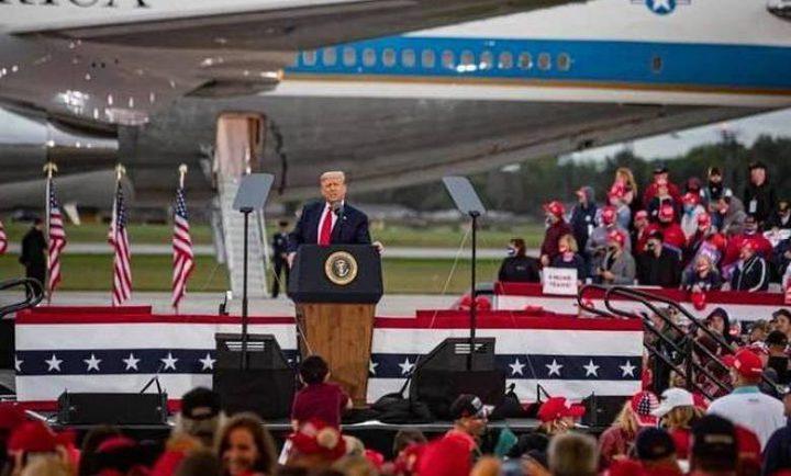 ترامب: الصين وروسيا وإيران تذل الولايات المتحدة في عهد بايدن
