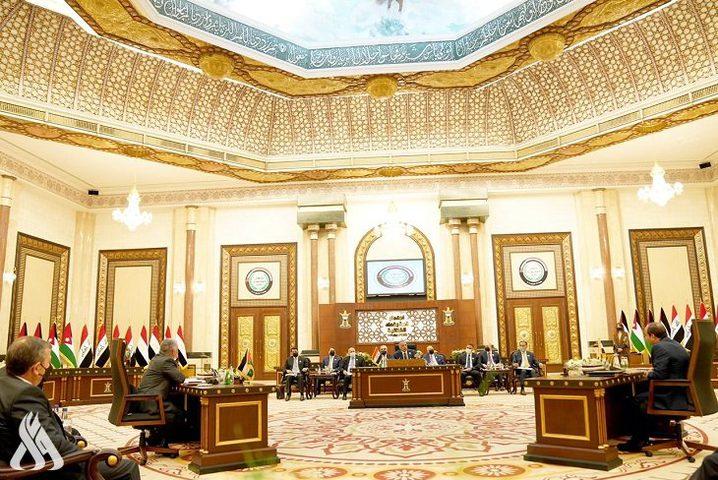 قمة العراق تؤكد على ضرورة تفعيل الجهود لتحقيق السلام العادل