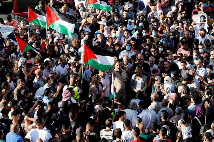 الإفراج عن الموقوفين في رام الله على خلفية التظاهرات