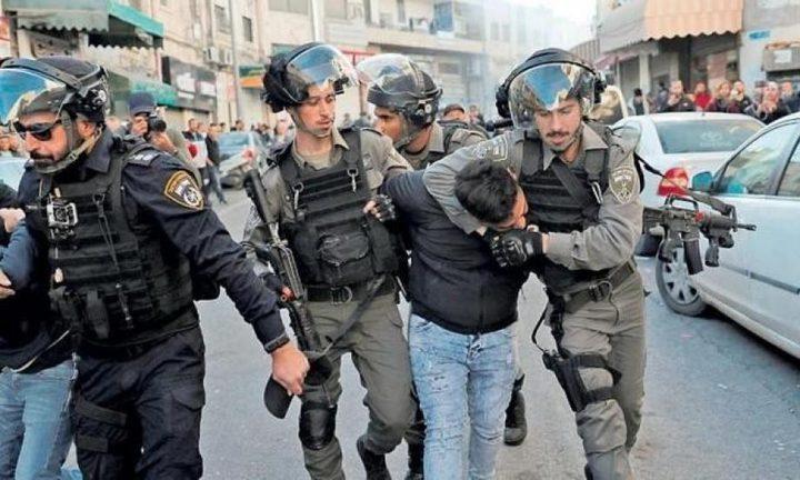 قوات الاحتلال تعتقل شابا من مدينة القدس المحتلة