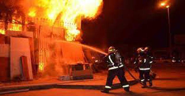 مصرع رجل وزوجته وإصابة 5 آخرين في حريق منزل بالقدس