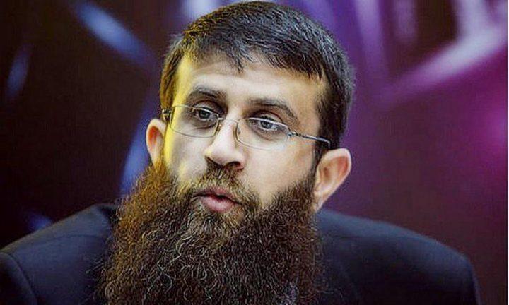 قوات الاحتلال تفرج عن الأسير خضر عدنان