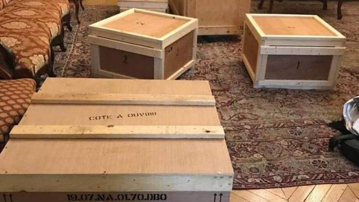النيابة المصري تسترد قطعا أثرية من فرنسا
