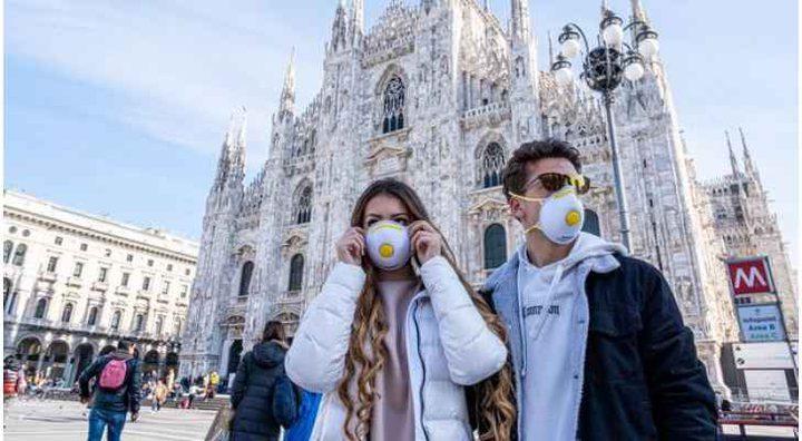 ايطاليا بدون كمامات بعد تحسن الوضع الوبائي