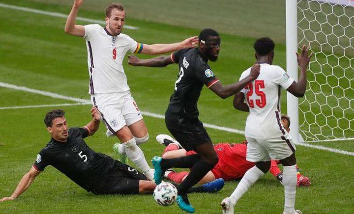إنجلترا تفوز على ألمانيا في يورو 2020 بثنائية نظيفة
