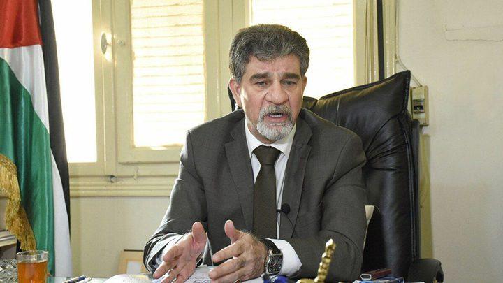 عبد الهادي يطلع سفيرالاتحاد الأوروبي على الانتهاكات الإسرائيلية