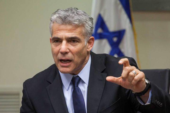 لابيد يفتتح قنصلية إسرائيلية في دبي