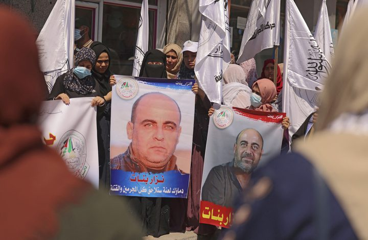 القضاء العسكري الفلسطيني يتسلم تقريري قضية مقتل نزار بنات