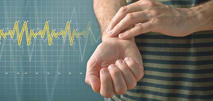 مخطط معدل ضربات القلب أثناء الراحة حسب العمر