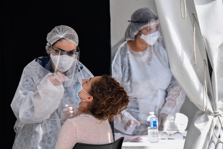 """تسجيل 307 إصابات جديدة بفيروس كورونا في """"إسرائيل"""""""