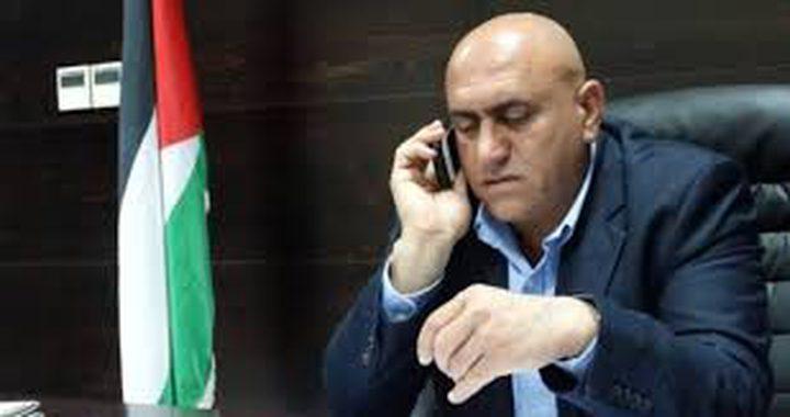 محافظ جنين يطالب التجار بعدم حضور الاجتماع في معسكر سالم