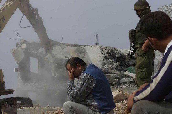 الاحتلال يجبر عائلة مقدسية على هدم منزلها شرق القدس
