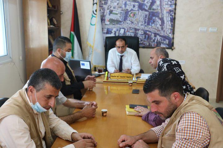 """الصحة تستقبل وفد الرابطة الطبية الفلسطينية الأمريكية """"PAMA"""""""