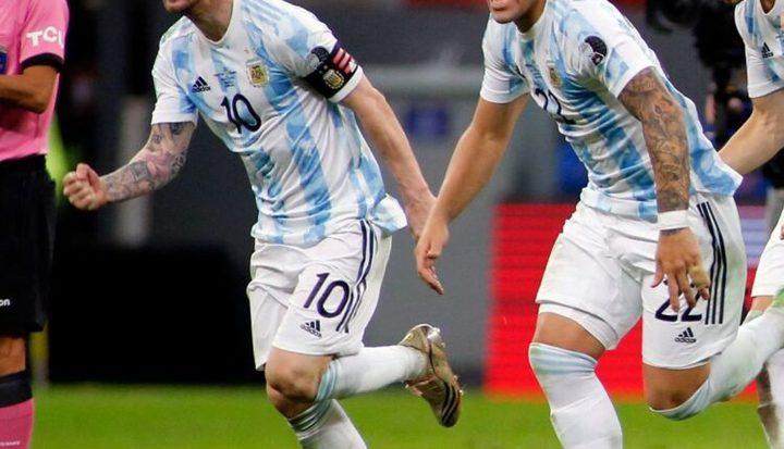ميسي يستفززميله السابق في برشلونة