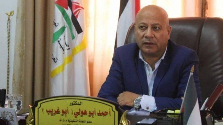 أبو هولي يطالب الأونروا بالتحرك للتعاطي مع الحالة الطارئة في غزة