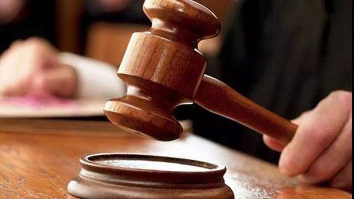 الخليل:الحكم بالأشغال الشاقة 10سنوات لمدان بتهمة إحداث عاهة دائمة