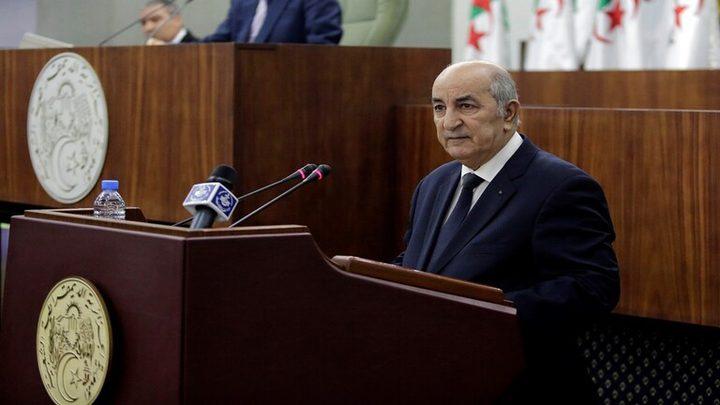 تشكيل الحكومة الجديدة في الجزائر
