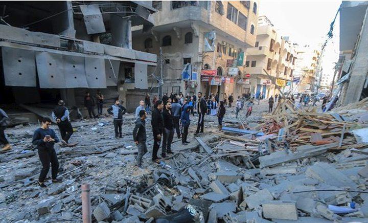 البنك الدولي: غزة بحاجة ل 485 مليون دولار للتعافي الفوري