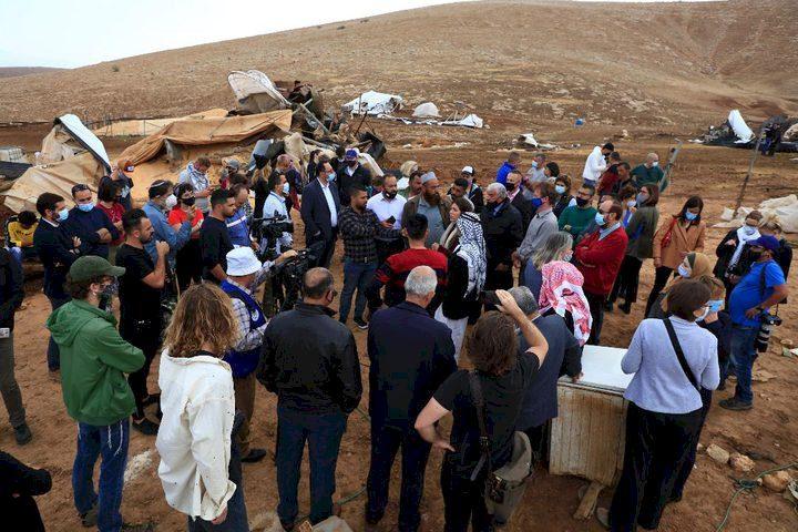 الأردن يدين هدمالاحتلال مساكن الفلسطينيين في حمصة الفوقا