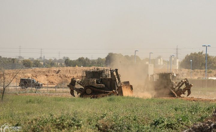 إطلاق نار وتجريف وتوغل للاحتلال شرق خانيونس