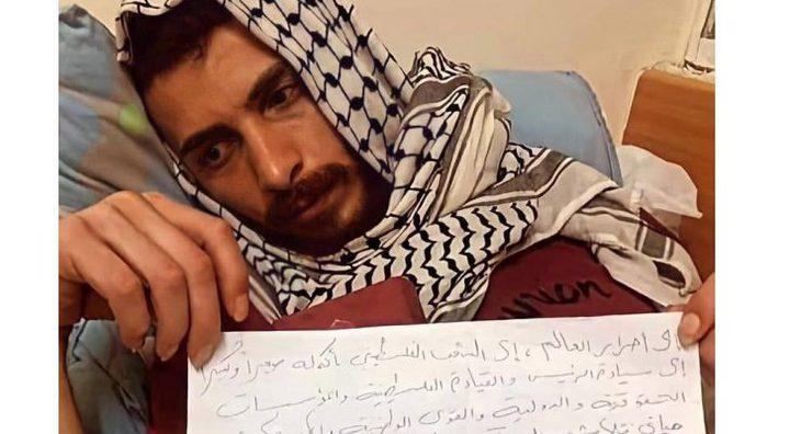 الأسير الغضنفر يواصله إضرابه عن الطعام لليوم 65