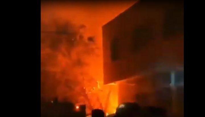 دوي انفجار ضخم شمال العاصمة الإيرانية طهران