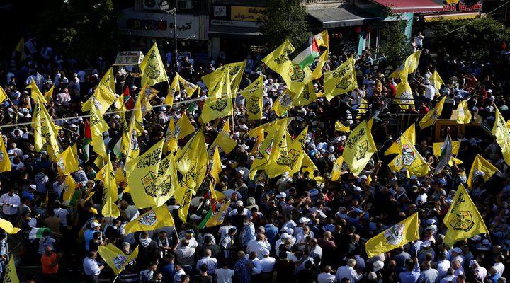 مسيرة جماهيرية في رام الله دعما للشرعية ونصرة للقدس والأسرى