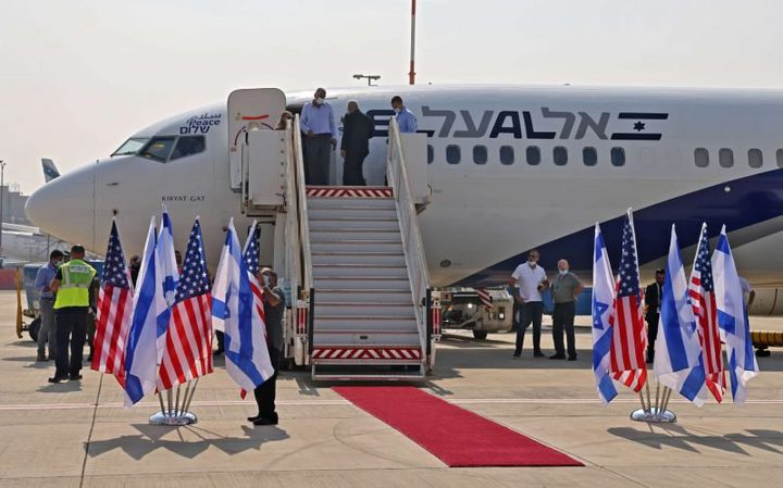 مسؤول أمريكي يصل دولة الاحتلال لبحث آلية تحويل الأموال لغزة