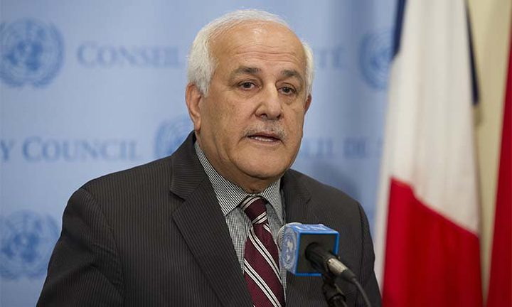منصور يدعو إلى تحميل الاحتلال المسؤولية عن جرائمه بحق شعبنا