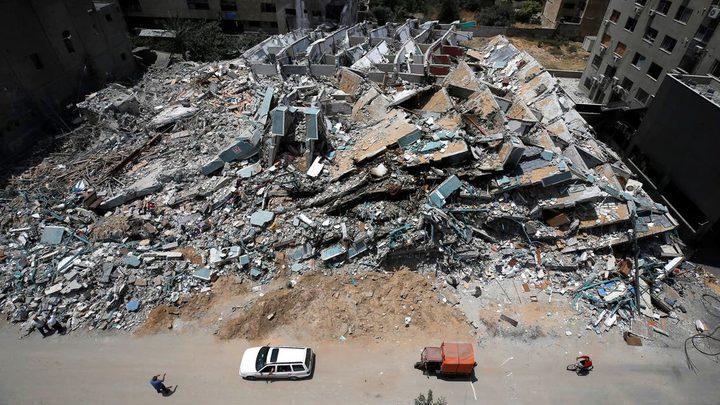 الأونروا: تم الانتهاء من تقييم أضرار 1,200 منزل في غزة