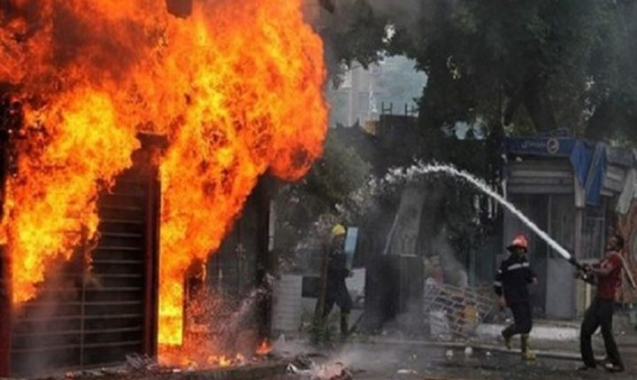 مصر: اندلاع حريق هائل في مصنع بمدينة العاشر من رمضان