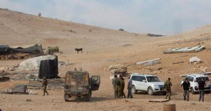 """الاحتلال يمنع """"الهلال الأحمر"""" من إيصال مساعدات لسكان حمصة الفوقا"""