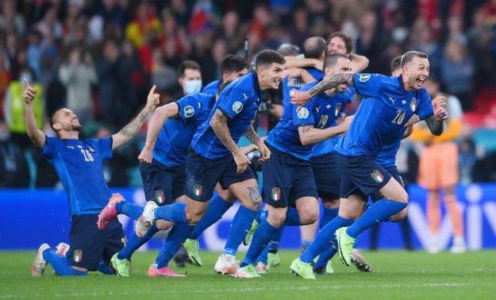 إيطاليا بطلة يورو 2020 للمرة الثانية في تاريخها