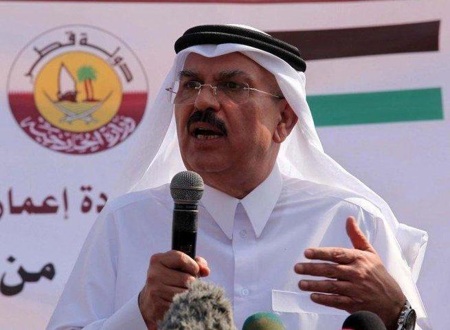 وصول السفير القطري محمد العمادي إلى قطاع غزة