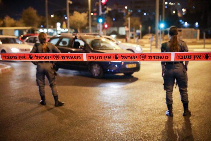 قوات الاحتلال تغلق المدخل الشرقي لقرية مردا شمال سلفيت