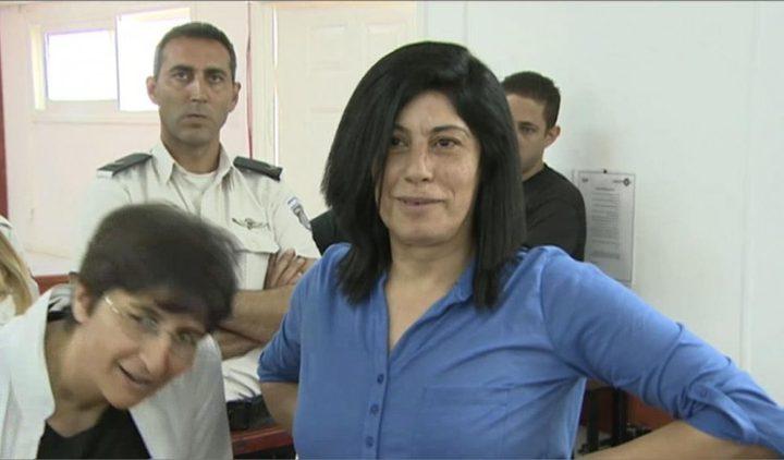 عودة: سلطات الاحتلال ترفض طلب الإفراج عن الأسيرة خالدة جرار