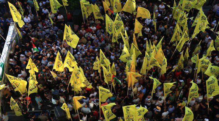 مهرجان جماهيري حاشد في جنين دعما للرئيس وانتصارا للقدس