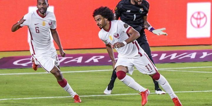 قطر تتعادل مع بنما في الكأس الذهبية