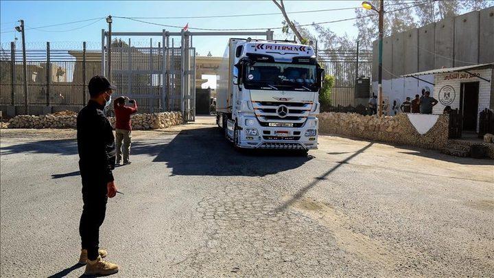 اقتراح إسرائيلي بإدخال مساعدات قطر لغزة على شكل قسائم غذائية