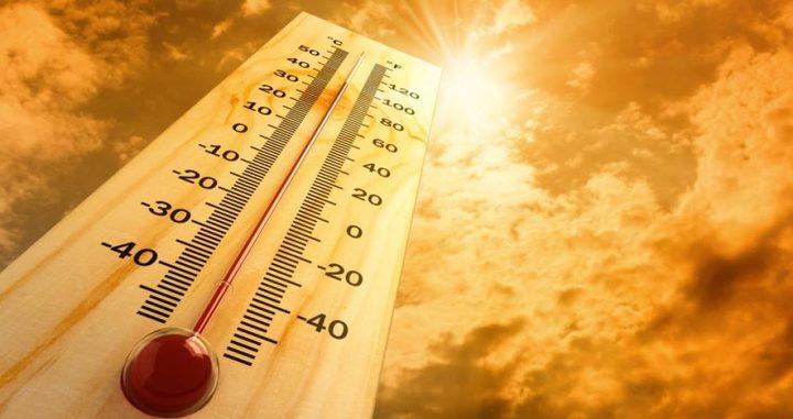 الطقس: كتلة هوائية حارة تؤثر على البلاد حتى الأحد المقبل